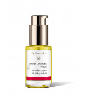 Lemon Lemongrass Vitalising Body Oil 30ml