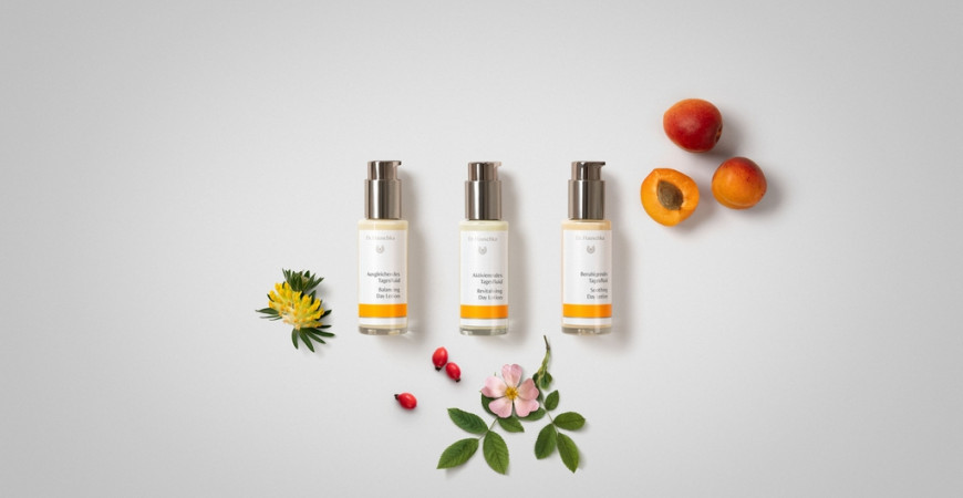 DR. HAUSCHKA'S NEW DAY LOTION RANGE