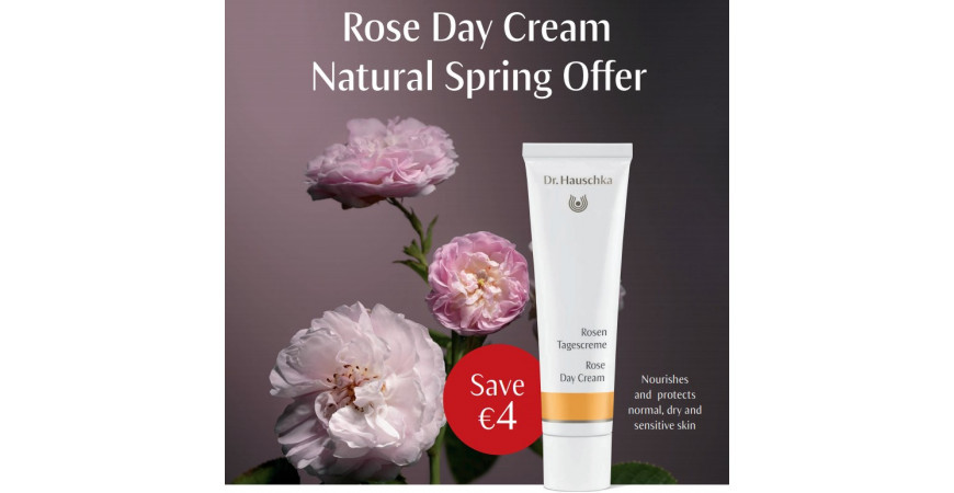 The Gift Of Roses With Dr. Hauschka This Mother's Day.