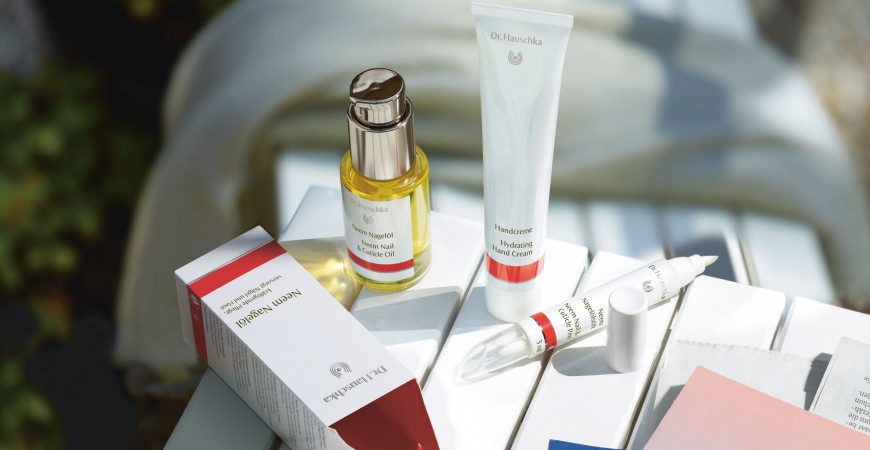 Nourishing Self Care Rituals From Dr. Hauschka.