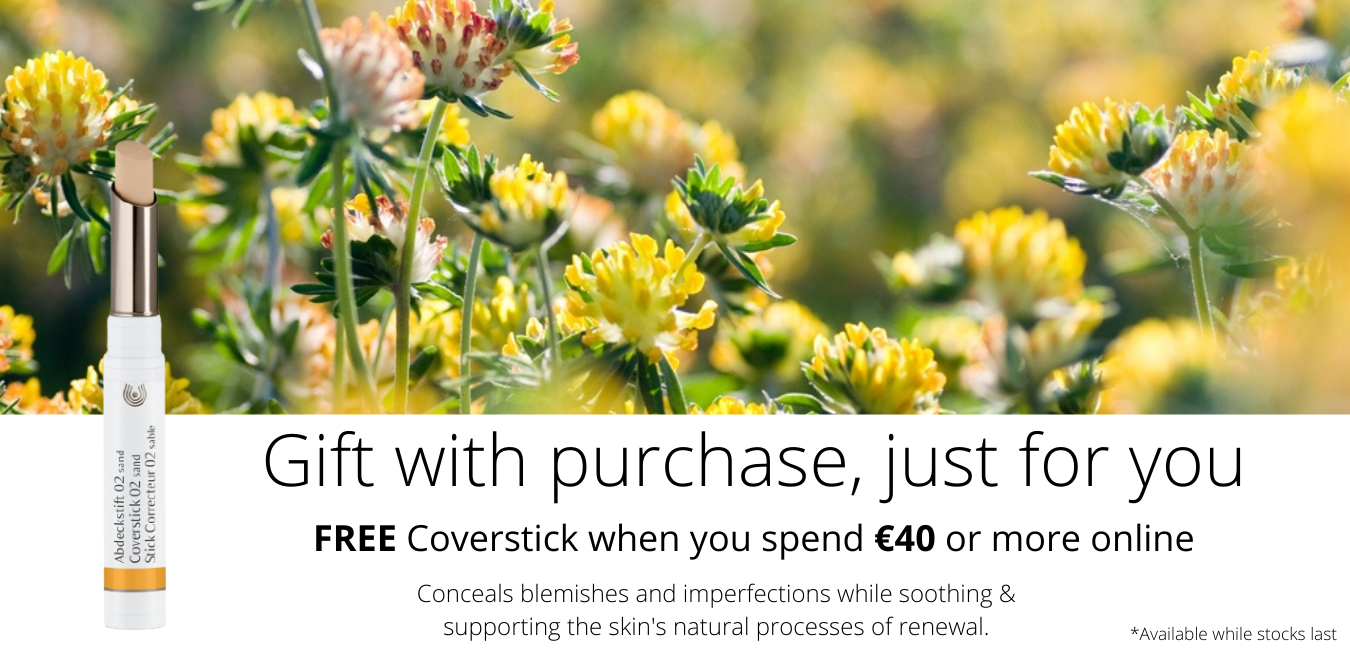 FREE Coverstick when you spend 40euro or more online